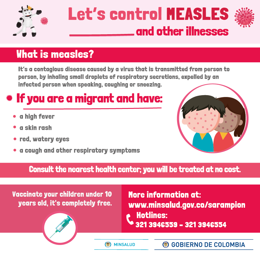 Let's control MEASLES